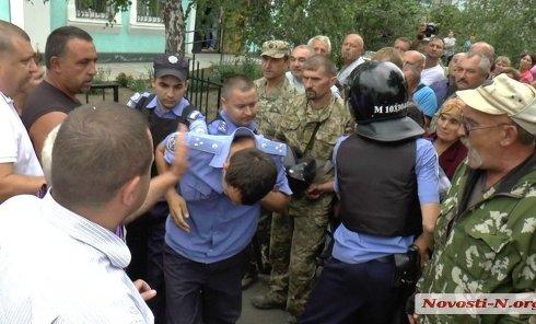 Попытка самосуда в Николаевской обалсти