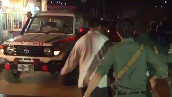 Атака на Американский университет в Кабуле: видео с места событий