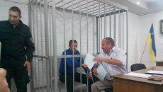 Александр Причипойда, один из троих полицейских по  делу Кривого озера