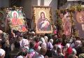 Почаев встречает 20 тысяч паломников из Каменца-Подольского
