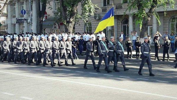 Военнослужащие Одесской военной академии