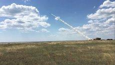 Испытание новых украинских ракет