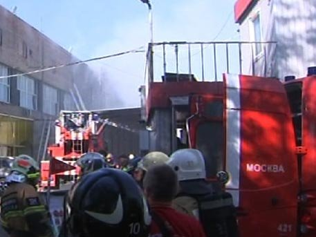 В клинике остается один пострадавший впожаре вмосковской типографии