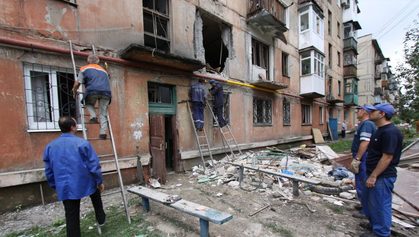 Госпогранслужба Украины сообщила обобстреле КПП «Майорск» вДонбассе