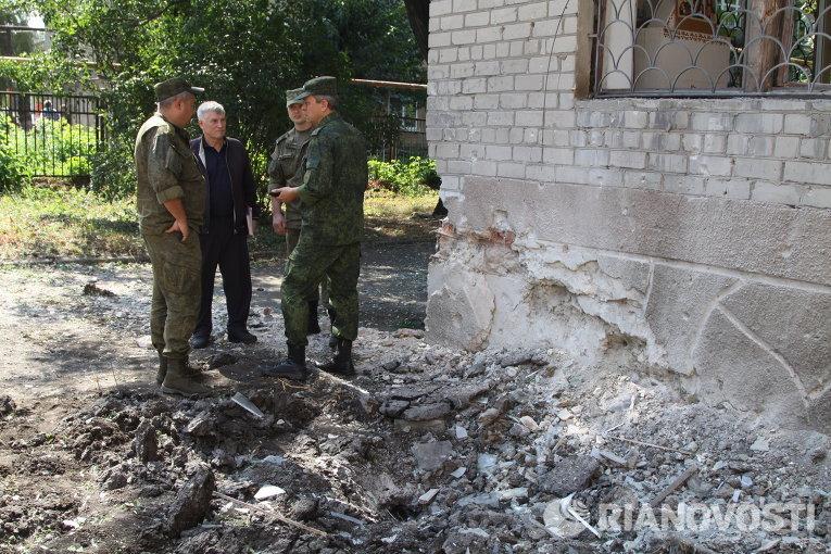 Таможенники отразили минометный обстрел боевиков вМайорске