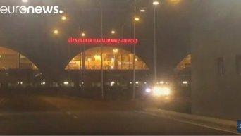 Обстрел аэропорта в Турции
