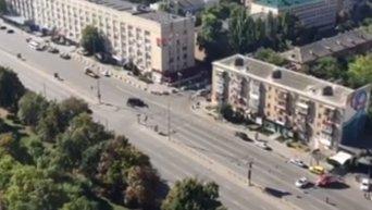Антитеррористические учения в центре Киева