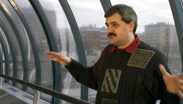 Писатель-фантаст Дмитрий Байкалов