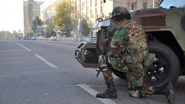 Антитеррористическая операция в Киеве
