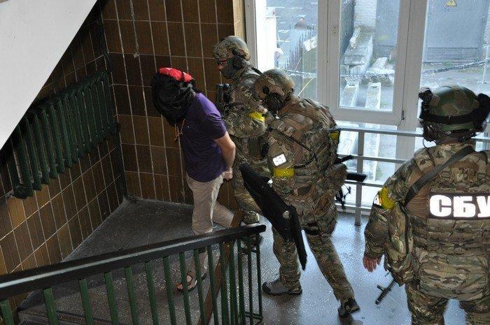 Антитеррористическая операция СБУ в Киеве
