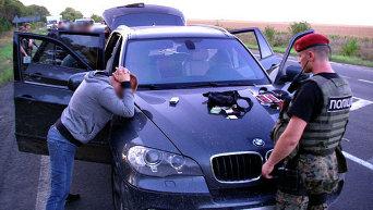 Как задерживали криминальных авторитетов в Донецкой области