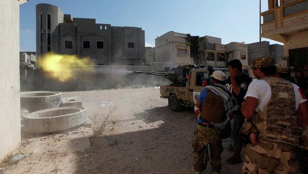 Ситуация в Ливии. Сирт