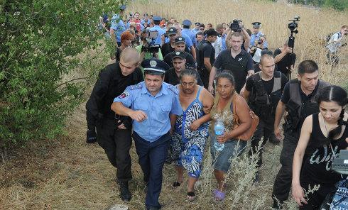 Беспорядки в Одесской области