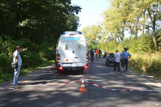 Взрыв джипа во Львовской области 29 августа 2016 года