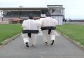 Забег надувных сумоистов в Ирландии