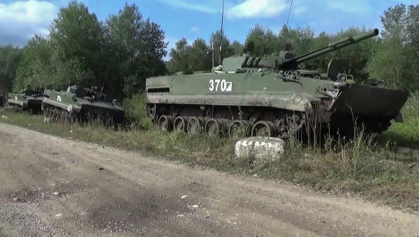 Внезапная проверка практических действий войск на полигонах ЮВО