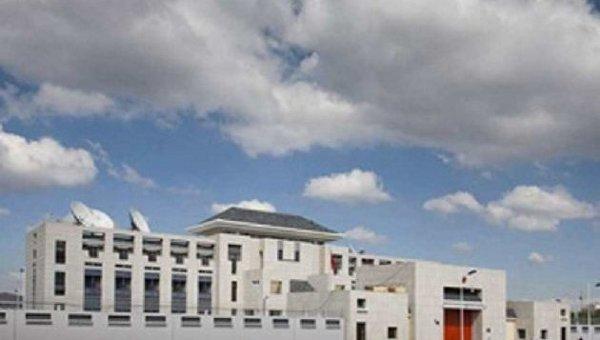 В посольстве Китая в Бишкеке произошел мощный взрыв