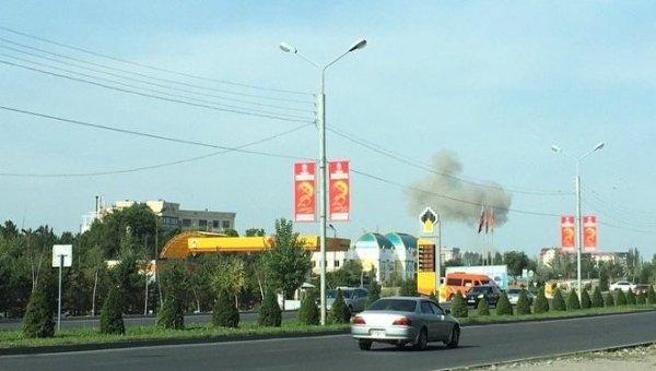 Бишкек. Недалеко от места инцидента