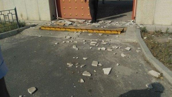 В Бишкеке возле посольства Китая произошел взрыв