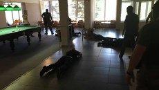 Спецоперация на похоронах Лехи Краснодонского в Донецкой области