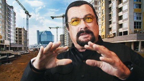 Стивен Сигал станет жителем многофункционального комплекса Маяк Минска