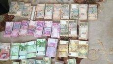 Деньги, изъятые в ходе обыска у главы Управления ГФС в Киевской области