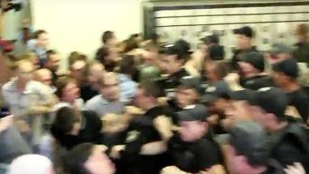 Столкновения в суде