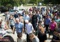 Похороны убитой цыганом девочки в Лощиновке