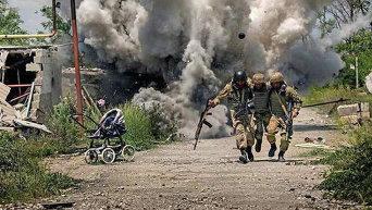 Постановочные снимки с Донецкой области