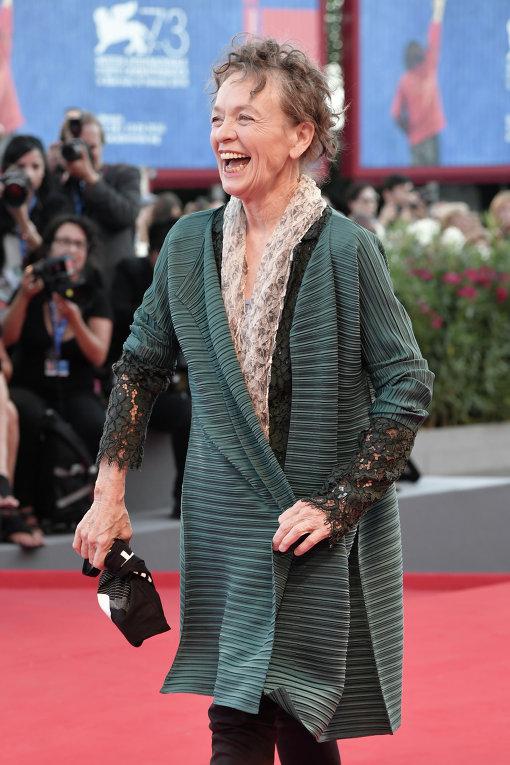 Венецианский кинофестиваль. Певица Лори Андерсон.
