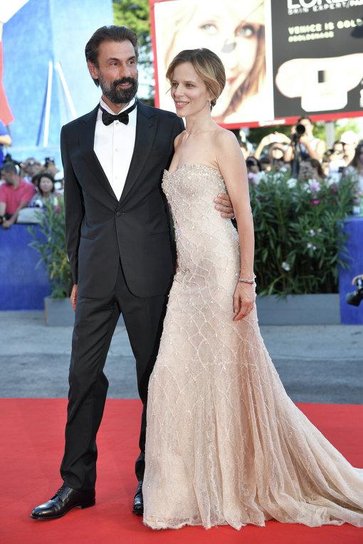 Венецианский кинофестиваль. Актриса Соня Бергамаско.