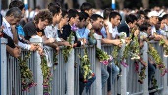 Ташкентцы проводили в последний путь Ислама Каримова