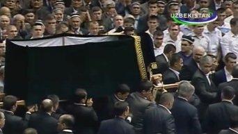 Видео с похорон Ислама Каримова