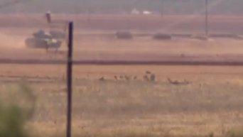 Турция открыла второй фронт в Сирии. Видео