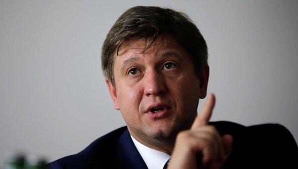 Министр финансов Александр Данилюк