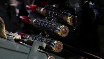 Пулеметная лента. Позиции ВСУ в зоне АТО