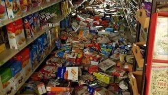 Последствия землетрясения в Оклахоме
