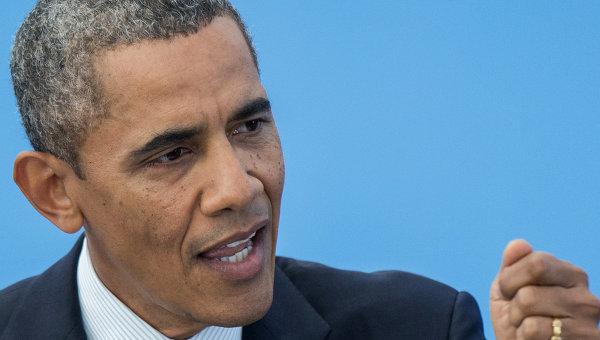 США и Англия будут противоборствовать русской агрессии вотношении Украины—Б.Обама