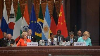 Рабочее заседание глав делегаций государств-участников Группы двадцати G20