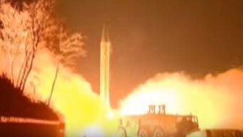 Баллистические ракеты КНДР упали в экономической зоне Японии. Видео