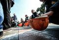 Протесты шахтеров. Архивное фото