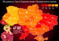 Ромы в Украине: регионы, в которых проживают цыгане. Инфографика