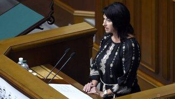 Народный депутат Ирина Констанкевич. Архивное фото