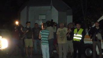 Конфликт на застройке в Святошинском районе Киева