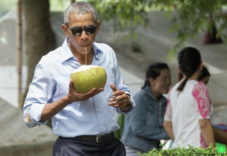 Обама встретился спрезидентом Филиппин, назвавшим его «сыном шл*хи»