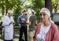 Бунт и голодовка медиков под Минздравом Украины