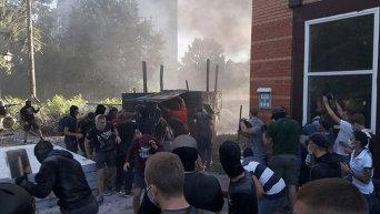 Конфликт на стройке в Киеве
