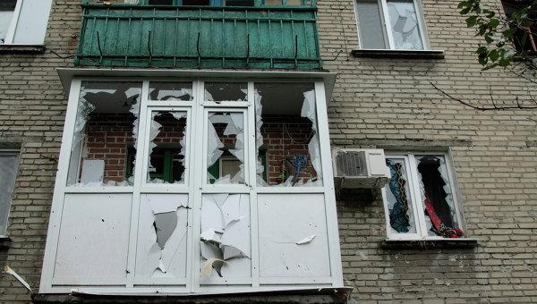 Обстрел Ясиноватой. Архивное фото