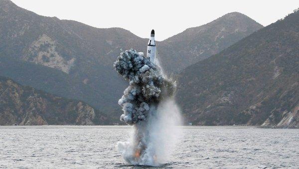 Пуски баллистических ракет КНДР