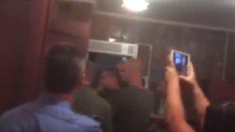 В Мукачево во время суда над членами Правого сектора начались беспорядки